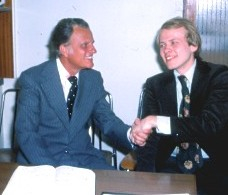 I was Billy Graham´s Youth Chairman, and a member of his executive board, in 1978 when he conducted a crusade in Oslo. A few years later, Billy Graham appointed me a member of the Lausanne Committee for World Evangelization (LCWE)