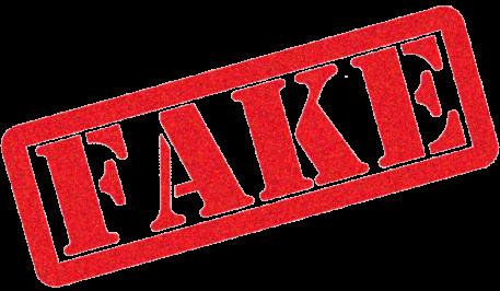 fake - transparent