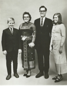 Our family photo in 1966. Copyright 2014: Liv-Ellinor and Jan-Aage Torp.